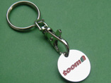 Hot Sale Cheap Trolley Coin Keyring